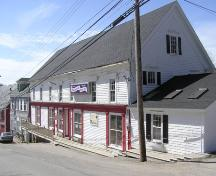 Weymouth Trading Post, Downhill Perspective, 2004; Municipality of the District of Digby, D. Thurber, 2004