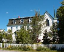 Exterior photo of the Convent and Chapel, Witless Bay, NL, taken August 1, 2005.; HFNL/Dale Jarvis 2005