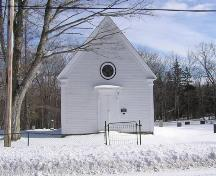Bayview United Church, Front Elevation, 2004; Municipality of the District of Digby, D. Thurber, 2004
