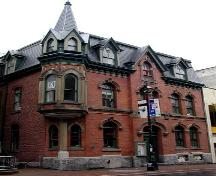 Former Church of England Institute, Halifax, front façade, 2004; Heritage Division, NS Department of Tourism, Culture and Heritage, 2004