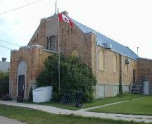 Front entrance and south side.; Government of Saskarchewan, Brett Quiring, 2004