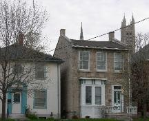 7 Waterloo Avenue, viewed from the south. The Church of our Lady on Catholic Hill is visible.; Susan Ratcliffe