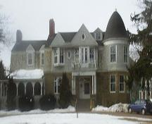 Black House in wintertime; Town of Sackville