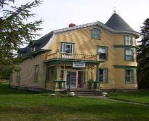 Mac O'Brien's House, front elevation, 2004.; City of Miramichi