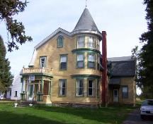 Mac O'Brien House, front/side view, 2004.; City of Miramichi