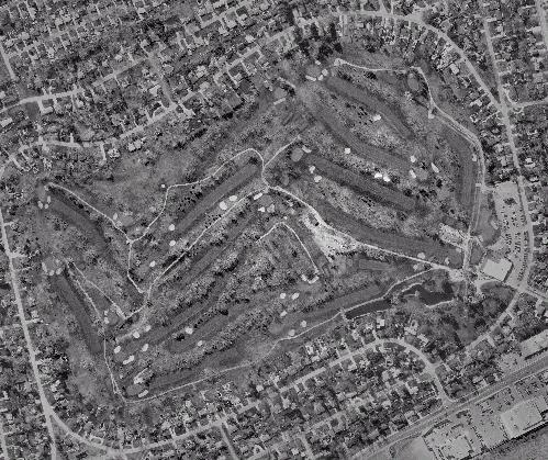 Roseland Golf Course, Aerial View, 2000
