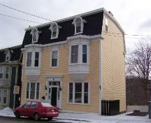 Exterior photo of front facade, 021 Military Road, St. John's, taken February 2005.; HFNL 2005