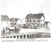 Engraving of hotel; Meacham's Illustrated Historical Atlas of PEI, 1880