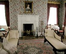Interior view of Drawing Room; Matheson House Perth Museum