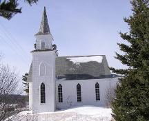Centreville United Church, Side Elevation, 2004; Heritage Division, Nova Scotia Department of Tourism, Culture and Heritage, 2004