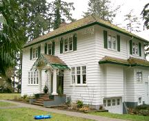 Exterior view of the George Snow House; City of Surrey, 2004