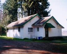 Exterior view of the Bion Smith House; City of Surrey, 2004