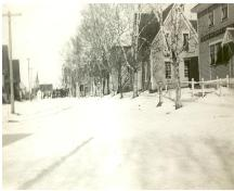 Looking north on Main Street, 22 Main is second from right; Erskine Smith Collection, n.d.