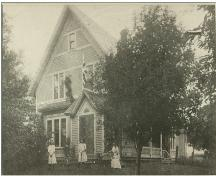 Showing west elevation in early 1900s; Keith Boswell Collection