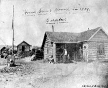 C.O. Card House Provincial Historic Resource (1889); Glenbow Archives, NB-3-1