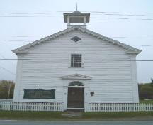 Main elevation, Tusket Court House, Tusket NS, 2004.; Heritage Division, NS Dept. Tourism, Culture and Heritage, 2004
