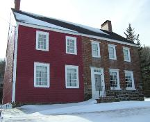 Ward House, Front Perspective; Heritage Division, Nova Scotia Department of Tourism, Culture and Heritage, 2004