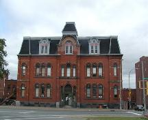 Halifax Academy, Halifax, NS, front elevation, 2005.; Heritage Division, Nova Scotia Department of Tourism, Culture and Heritage, 2005.