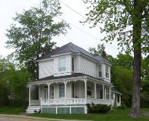 Gould Residence, front and side elevations, 2005.; City of Miramichi