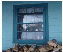 Showing window detail; Province of PEI, 2006