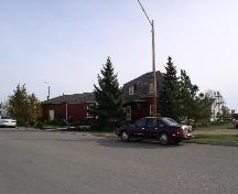 View from west, showing rear elevation and mansard roof, 2003.; Government of Saskatchewan, Jennifer Bisson, 2003.