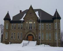 Northumberland County Courthouse (1913), front view, 2006.; City of Miramichi
