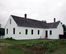 Doak House - Rear view; PNB 2004