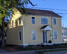 Showing south west elevation; City of Charlottetown, Natalie Munn, 2006