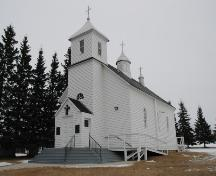 St. Mary's Roumanian Orthodox Church Provincial Historic Resource, Boian (February 2006); Alberta Culture and Community Spirit, Historic Resources Management Branch, 2006