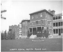 Building No. 1 Alberta Hospital Provincial Historic Resource, Ponoka (date unknown); Unknown