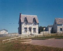 Exterior frontal view of Rear of Alexander and Jennie Templeman House, Bonavista, circa 1997; HFNL 2004