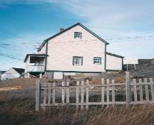 Side profile of William Ellis Saint House, Bonavista, circa 1996; HFNL 2006