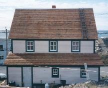Rear view of William Ellis Saint House, Bonavista, NL, circa 1996; HFNL 2006