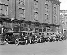 Archival photo of Rainier Hotel, ca. 1920; Vancouver City Archives
