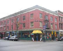 Exterior view of the Rainier Hotel; City of Vancouver, 2004