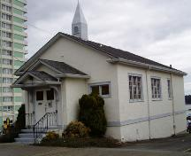 Exterior view of the Christian Science Building, 2004; City of Nanaimo, Christine Meutzner, 2004