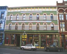 Exterior view of the Colonial Hotel, 2006; City of Victoria, Donald Luxton and Associates, 2006