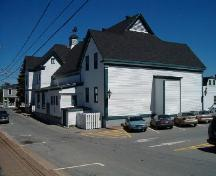 Rear Perspective, Liverpool Town Hall and Astor Theatre, Liverpool, 2004; Heritage Division, Nova Scotia Department of Tourism, Culture and Heritage, 2004