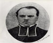 Photo of Father Lafrance; Town of Tracadie-Sheila