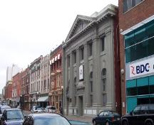 View of streetscape with 205 Water Street in foreground.  Photo taken October 12, 2006; HFNL/ Deborah O'Rielly 2006