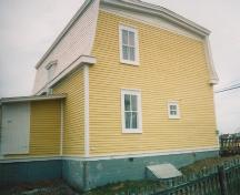 Side profile of James Groves House, Bonavista, circa 2002; HFNL 2006