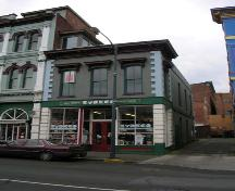 Exterior view of 565 Johnson Street, February 2006; City of Victoria, Berdine J. Jonker, 2006