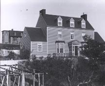 Exterior view of William Alexander House, also known as Bridge House, 1978; Centre for Newfoundland Studies photo 12.03.006/ 2006