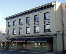 Exterior view of the Commercial Hotel; City of Nanaimo, Christine Meutzner, 2004
