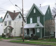 George A. Christie House - Street view with neighboring house; Heritage Division, NS Dept. of Tourism, Culture & Heritage, 2005
