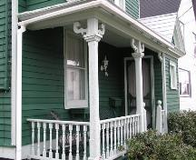 George A. Christie House - Porch detail; Heritage Division, NS Dept. of Tourism, Culture & Heritage, 2005