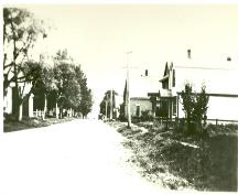 Looking south down Main Street from Bardin Street, c. 1930; Victoria Seaport Eco-Museum Collection