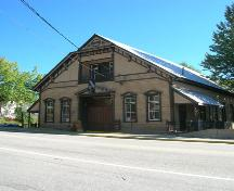 Exterior view of Rossland Miners Union Hall; BC Heritage Branch