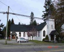 Exterior view of St. Andrew's United Church; Township of Langley, 2006