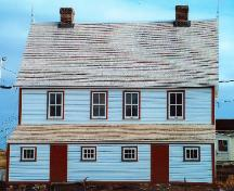 Rear exterior view of James Ryan Tenement House, Bonavista, circa 2004, after restoration; HFNL 2004
